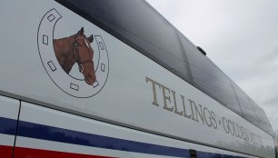 Tellings Logo - Luxury Coach Operator Scania